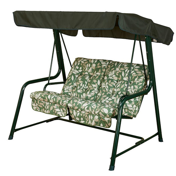 Bracken Outdoors Cotswold Leaf Vienna 2 Seat Garden Swingseat
