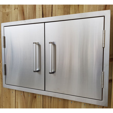 Stainless Steel Build-in Outdoor Kitchen Double door