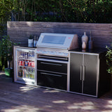 Profresco Signature S3000s 4 Burner Barbecue Trio Outdoor Kitchen - Black
