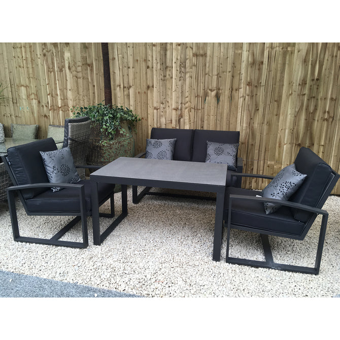 Harbo Oakmont 4 Piece Lounge Garden Furniture Set