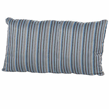 4 Seasons Pillow 30 x 60cm with Zip - Bray Blue