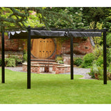Bracken Outdoors Seville Garden Gazebo Grey 4m x 3m