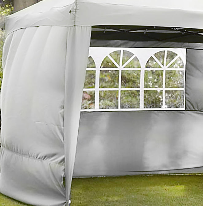Sidewalls for LG Outdoor Hamilton 3m Pop-up Gazebo - Cream