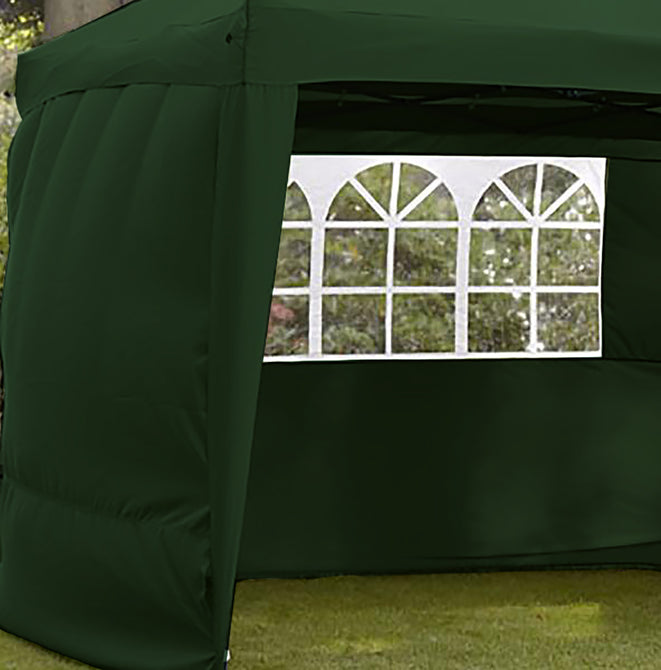 Sidewalls for LG Outdoor Hamilton 3m Pop-up Gazebo - Forest Green