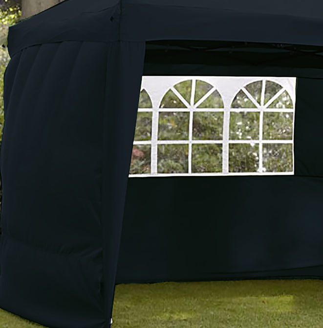 Sidewalls for LG Outdoor Hamilton 3m Pop-up Gazebo - Navy Blue
