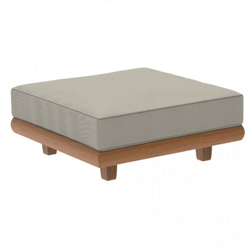 Alexander Rose Outdoor Sorrento Ottoman with Cushion