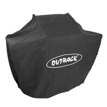Outback Cover to fit Half Drum and Oven Grill Barbecue