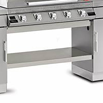 BeefEater 1100 Series ODK 5 Burner Bottom Shelf - Stainless Steel