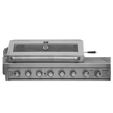 Draco Grills Z650 6 Burner Stainless Steel Gas Barbecue Build In