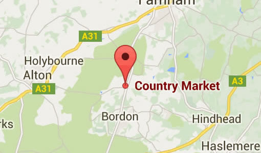 Find us in Hampshire