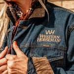 Western Horseman Denim Jacket