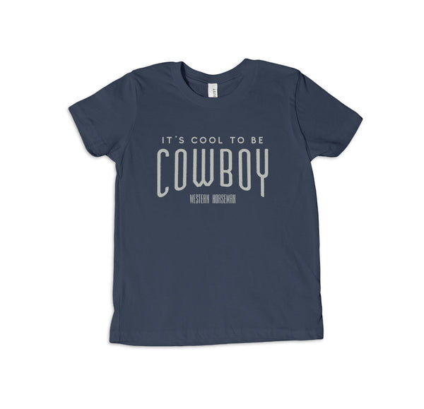 It's Cool to be Cowboy Kid's Tee