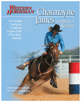 Charmayne James on Barrel Racing