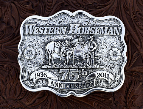 75th Anniversary Belt Buckle