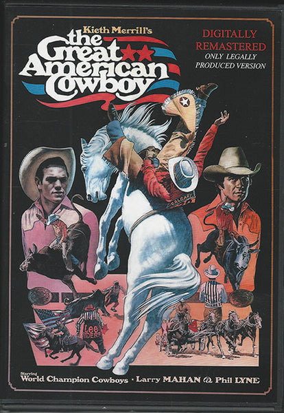 Great American Cowboy DVD