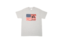 Grey Flag Design Tee
