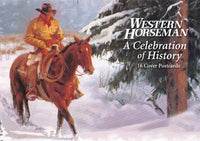 Western Horseman Post Card Book