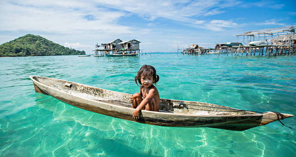 The amazing story of sea nomads: the Bajau People