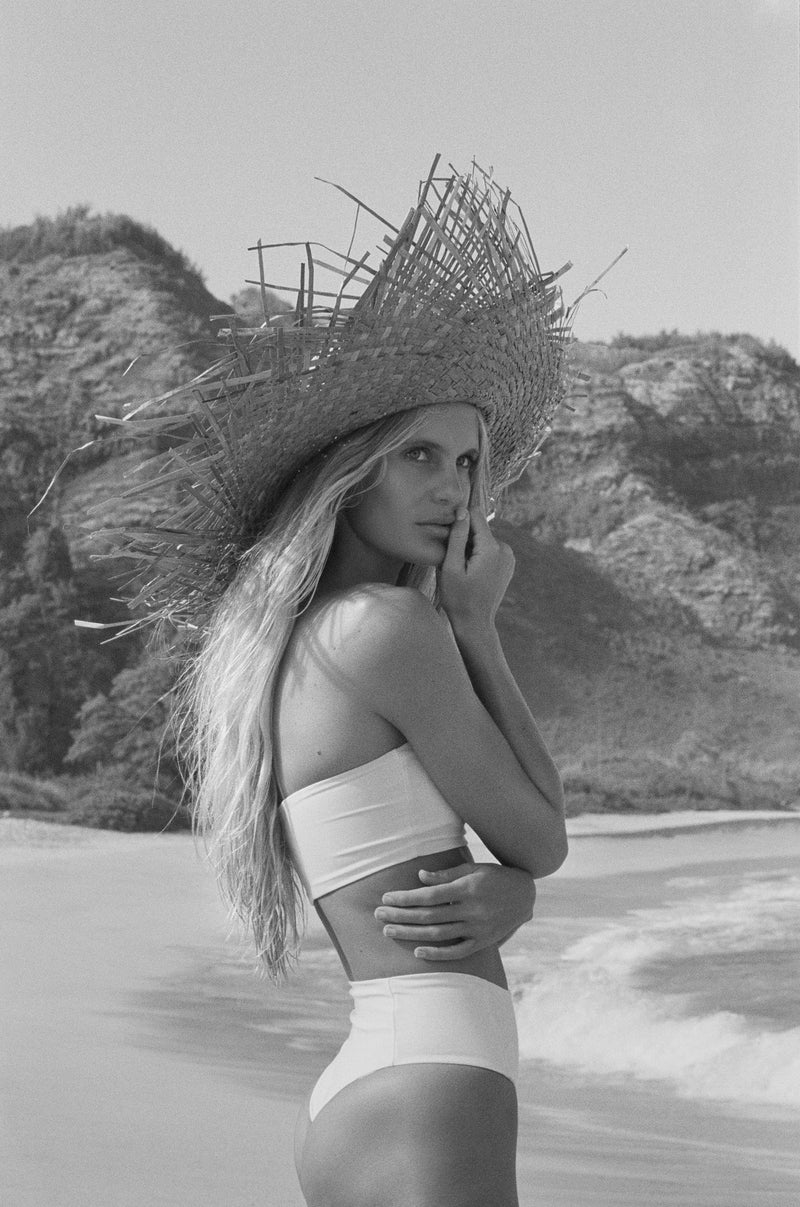 Bardot Top - Blanc