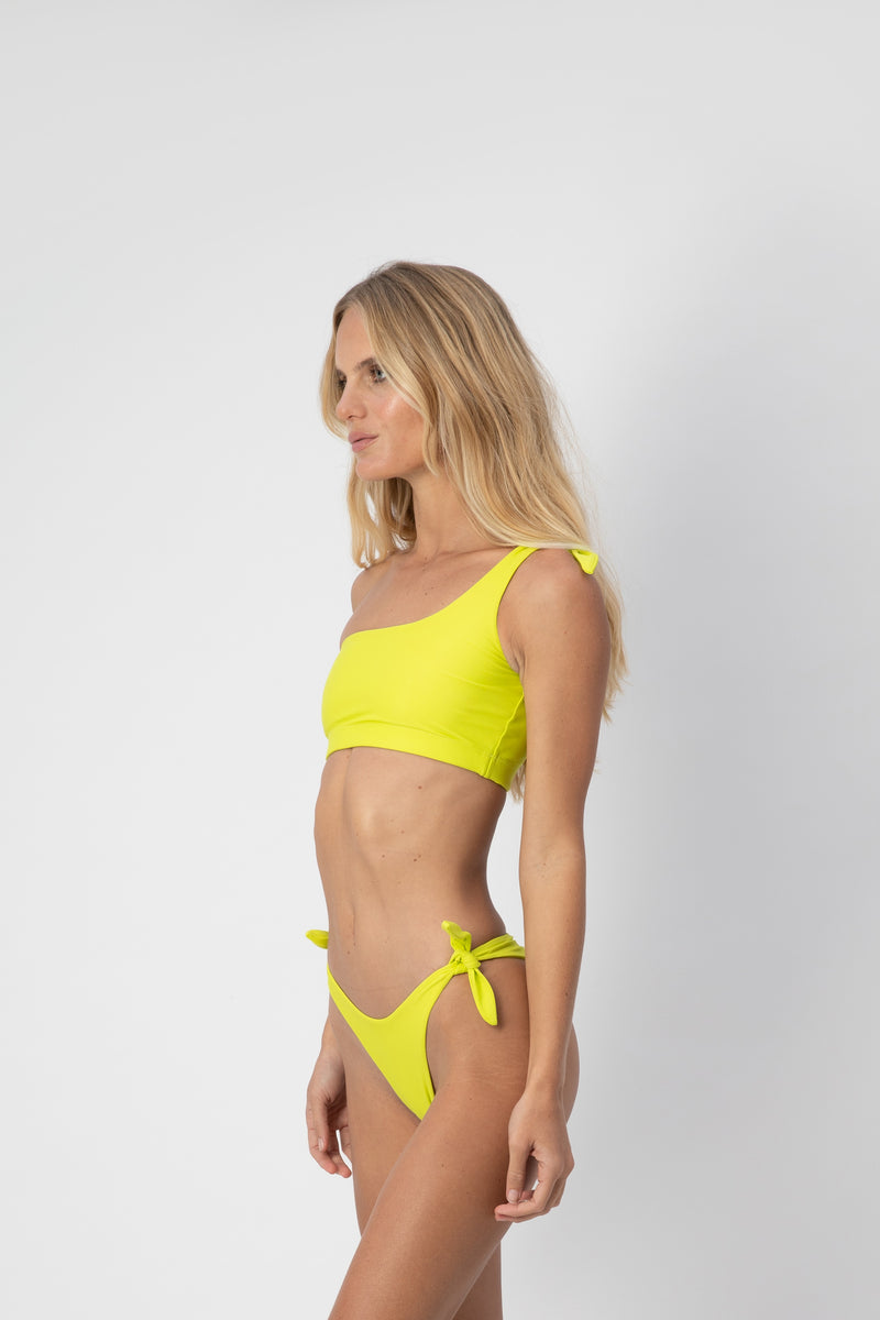 Jones Bikini Top - Lime