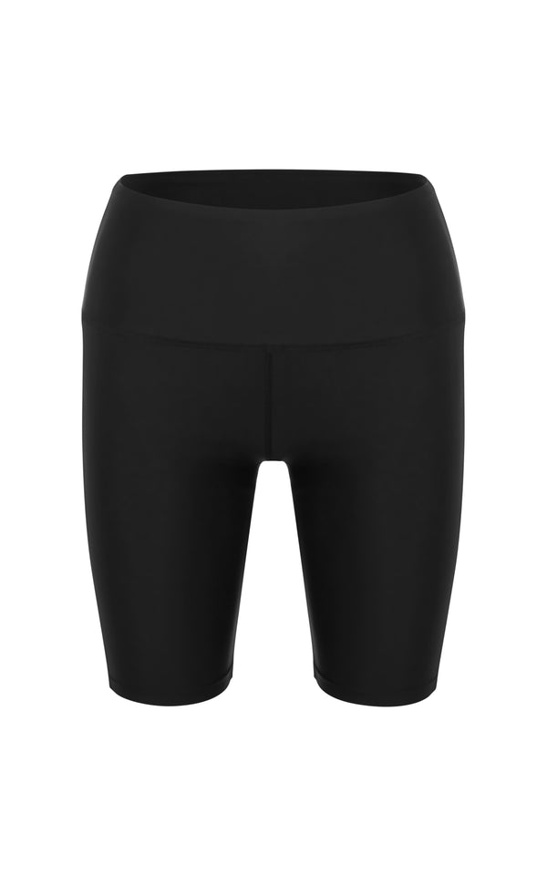 Goodall Short -Sustainable Biker short - Black-cut out  | ABYSSE