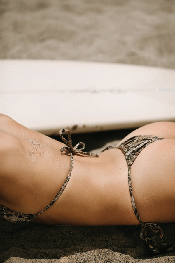 Maya Triangle Top Bikini Serpent | ABYSSE