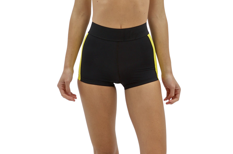 Osa | Sustainable Cheeky Shorts - Lemon | ABYSSE