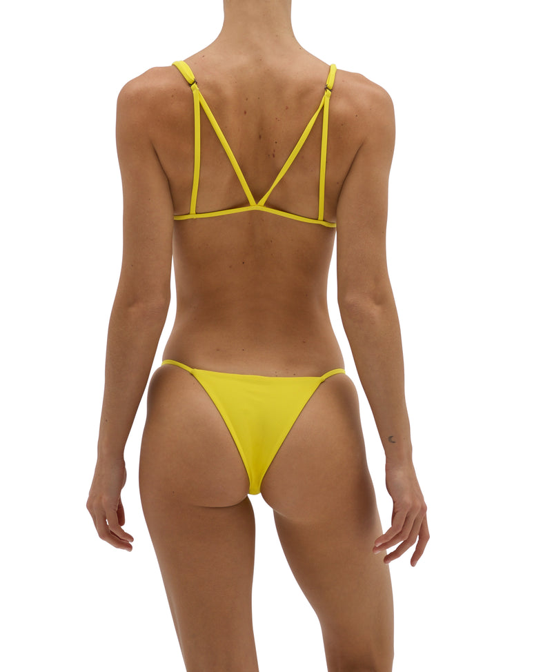 Dawn Bikini Top - Lemon