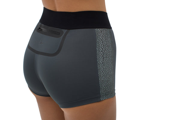 Osa | Sustainable Cheeky Shorts - Stingray| ABYSSE