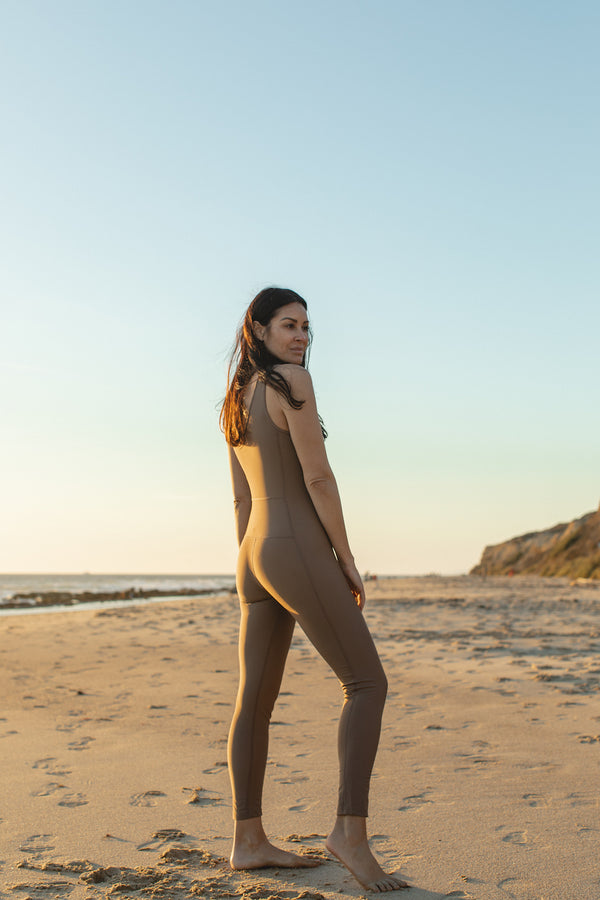 Kai Cocoa -One-piece Catsuit- recycled -ECONYL |ABYSSE|
