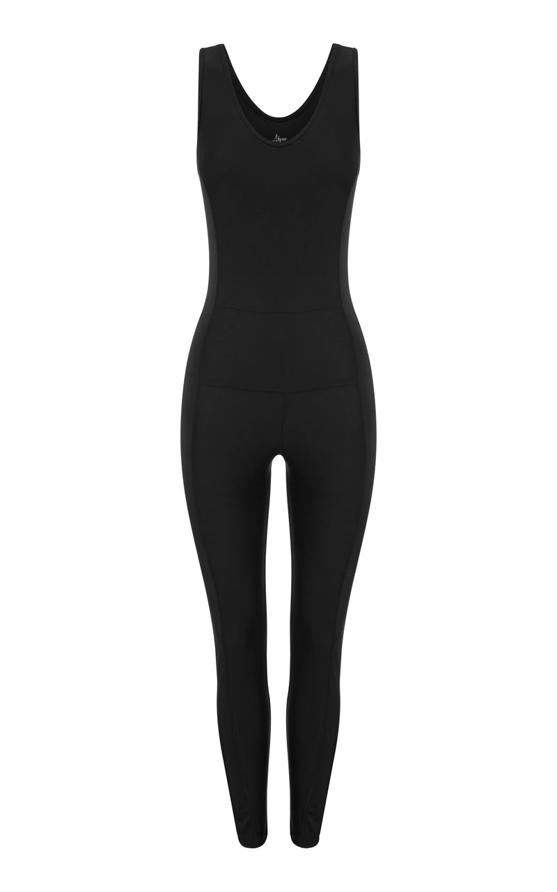 Kai Jet-rib- catsuit-sustainable activewear made in LA
