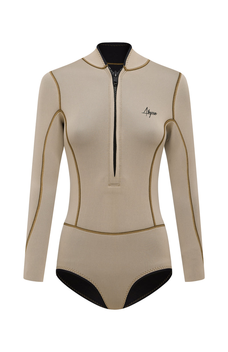 Lotte Sand Women's Long-Sleeve spring suit | ABYSSE