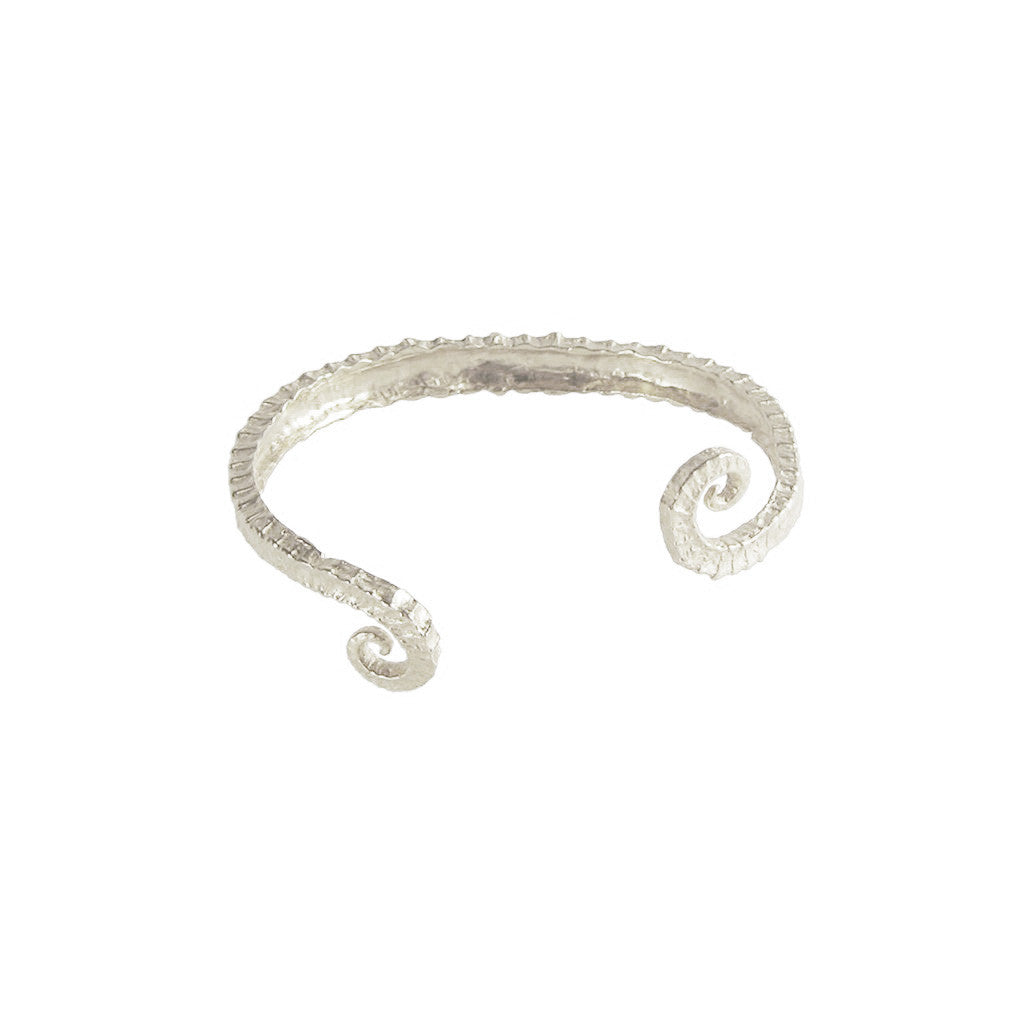 Seahorse Tail Cuff Bracelet