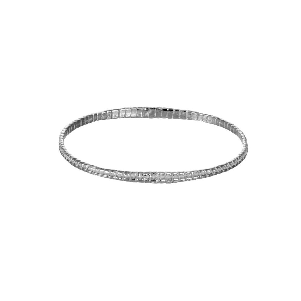 Serpentine Bangle Bracelet