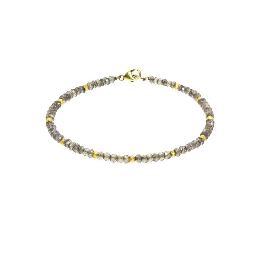 Gemstone Station Bracelet - Mystic