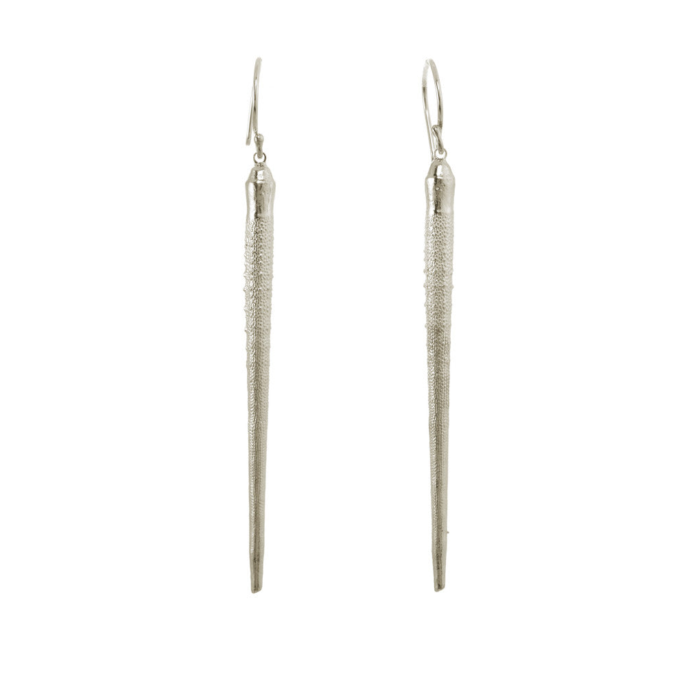 Long Urchin Spine Earrings