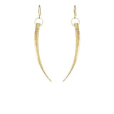 Long Tusk Earrings