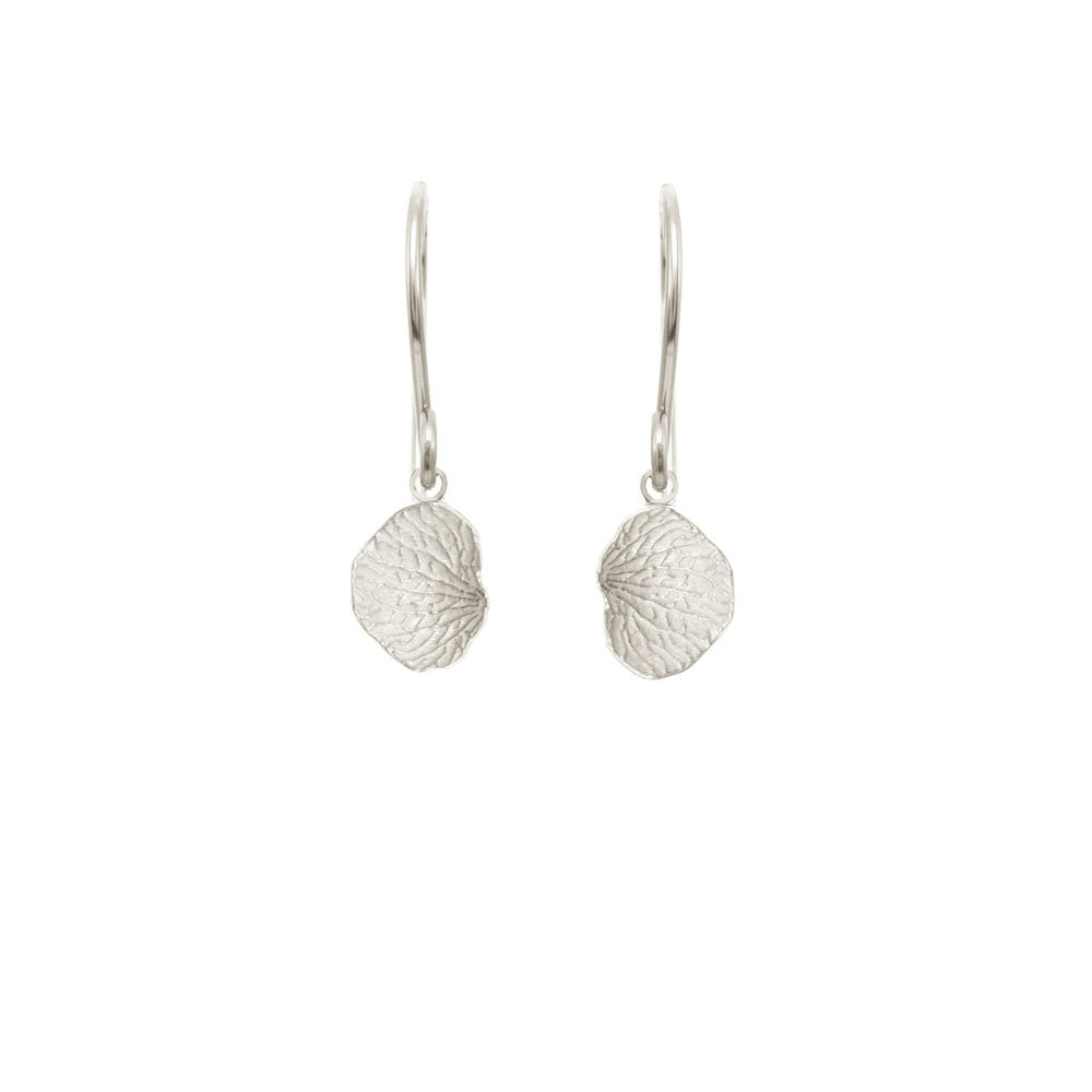 Medium Vertical Petal Earrings