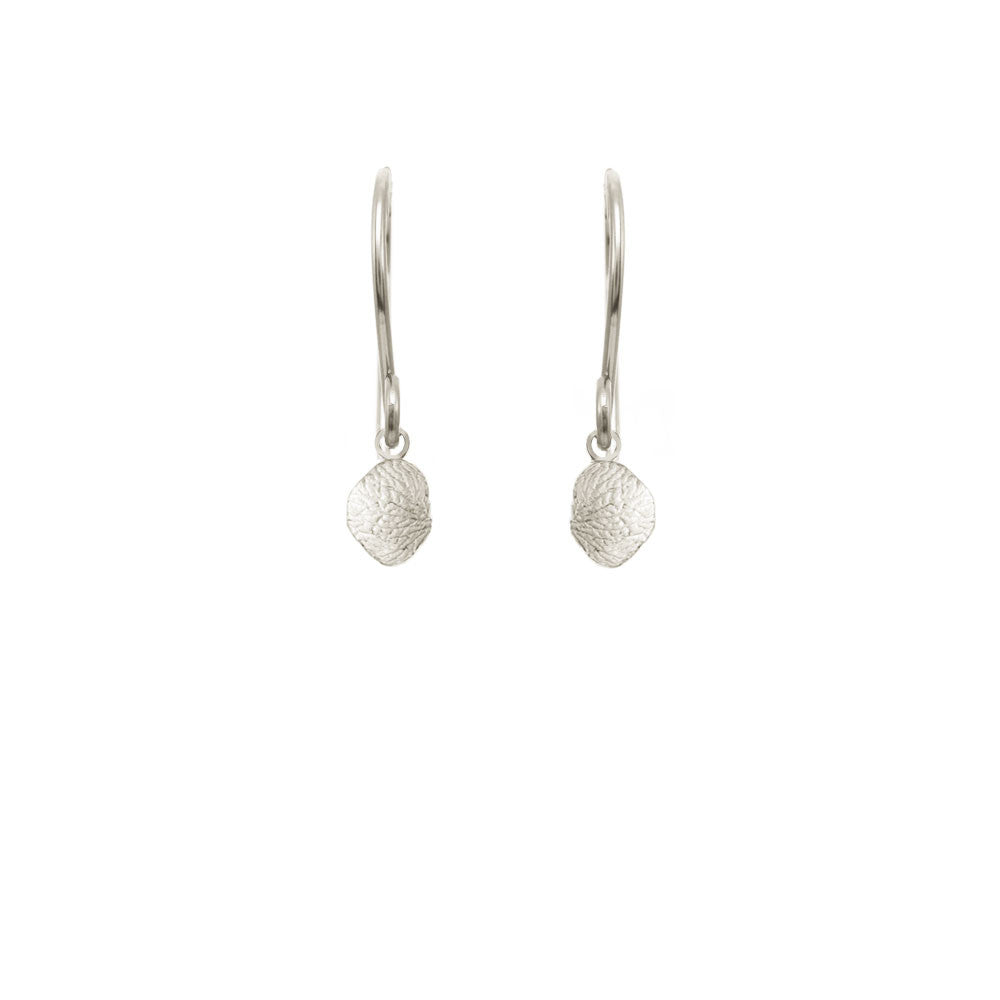 Small Vertical Petal Earrings