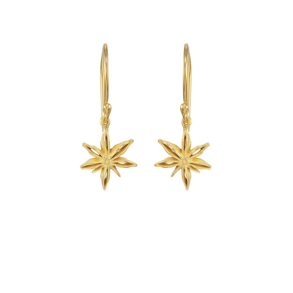 Mini Star Anise Earrings