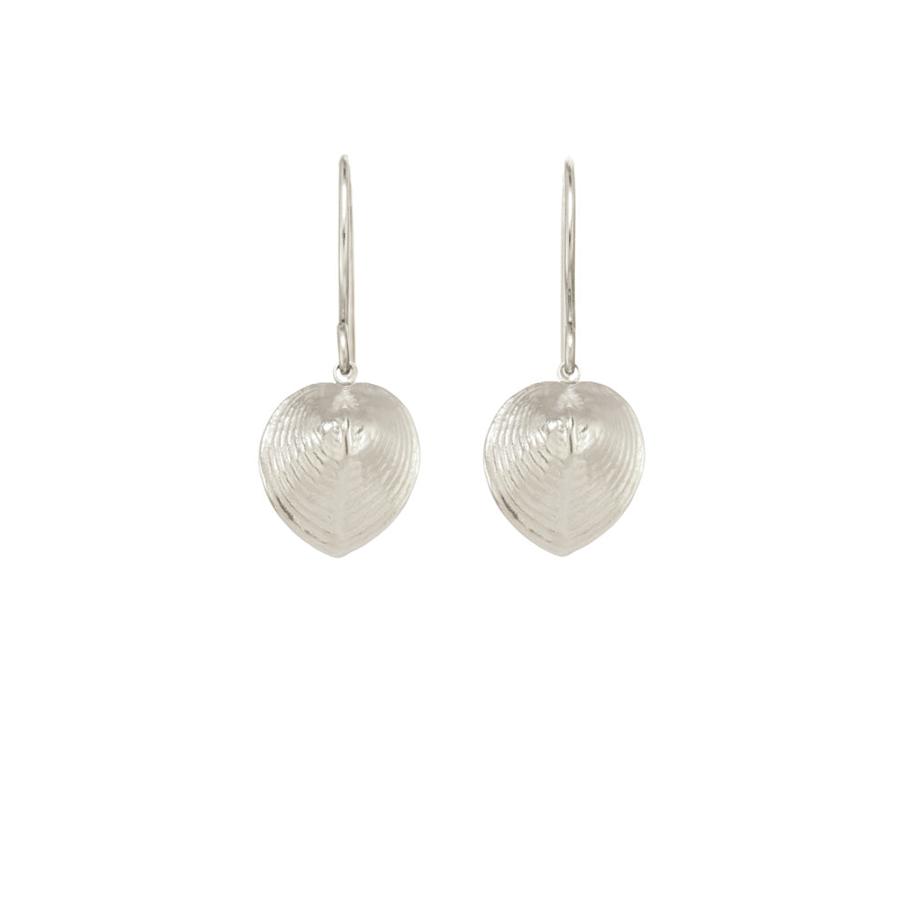 Small Heart Shell Earrings
