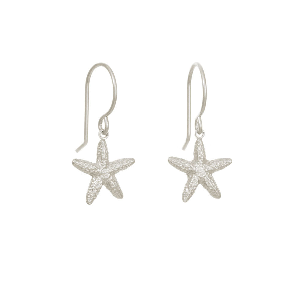 small starfish earrings