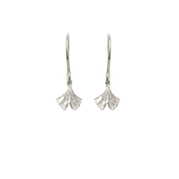 Mini Gingko Leaf Earrings