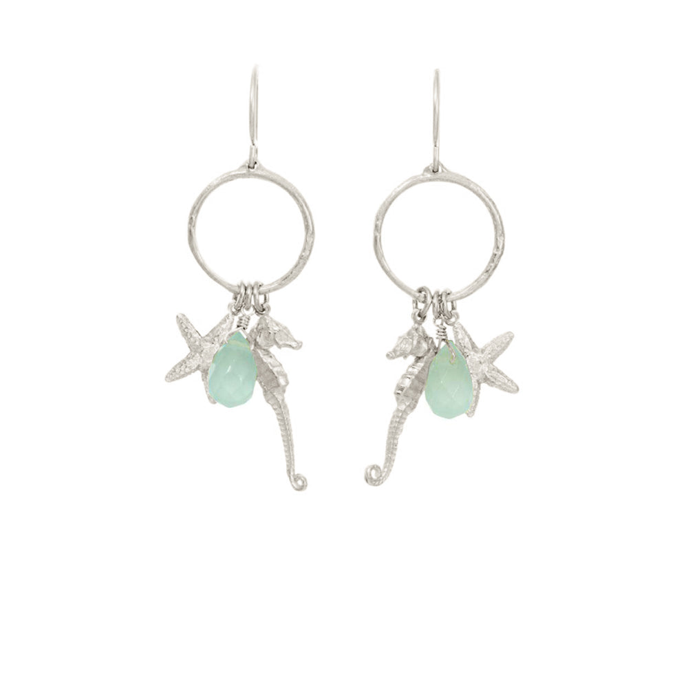 Sealife Charm Earrings