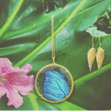 XLG Butterfly Wing Necklace