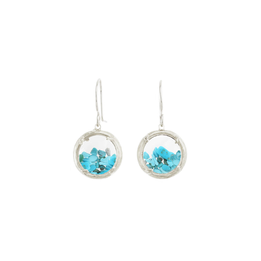 Mini Shaker Birthstone Earrings