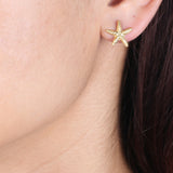 Starfish Post Earrings