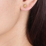 Mini Starfish Stud Earrings