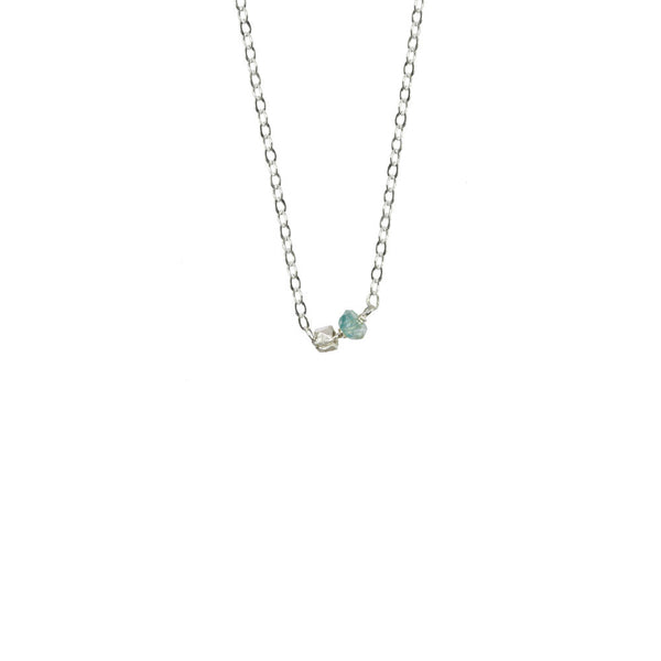 Gemstone Duo Necklace
