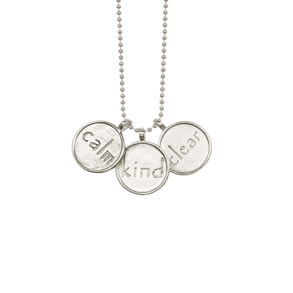 Calm, Kind, Clear Necklace